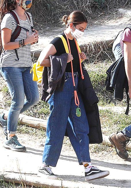 Blanca Suárez no teme al coronavirus