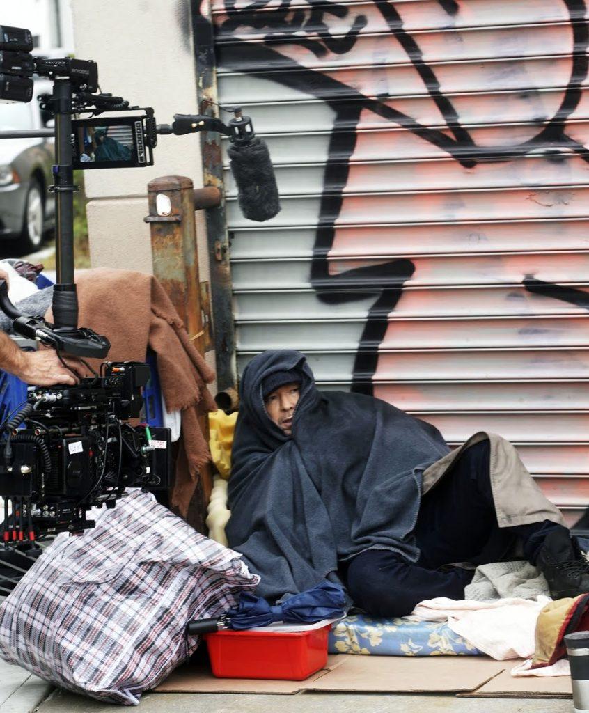 Donnie Wahlberg rodando Blue Bloods