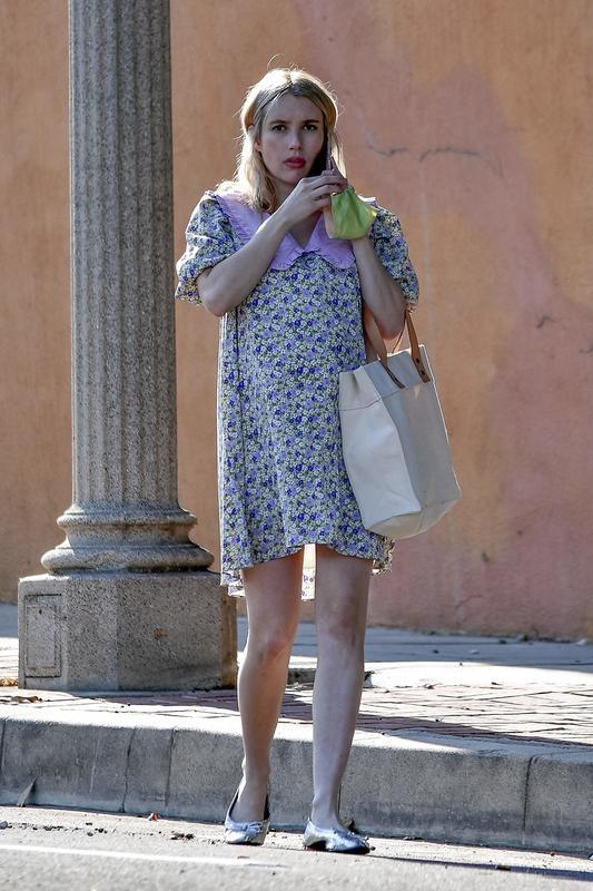 Emma Roberts, embarazada.