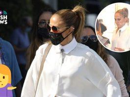 Jennifer López de compras por Beverly Hills