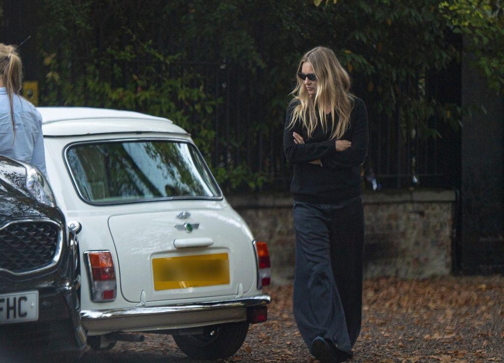 Kate Moss regala un Mini Cooper a su hija Lila Grace