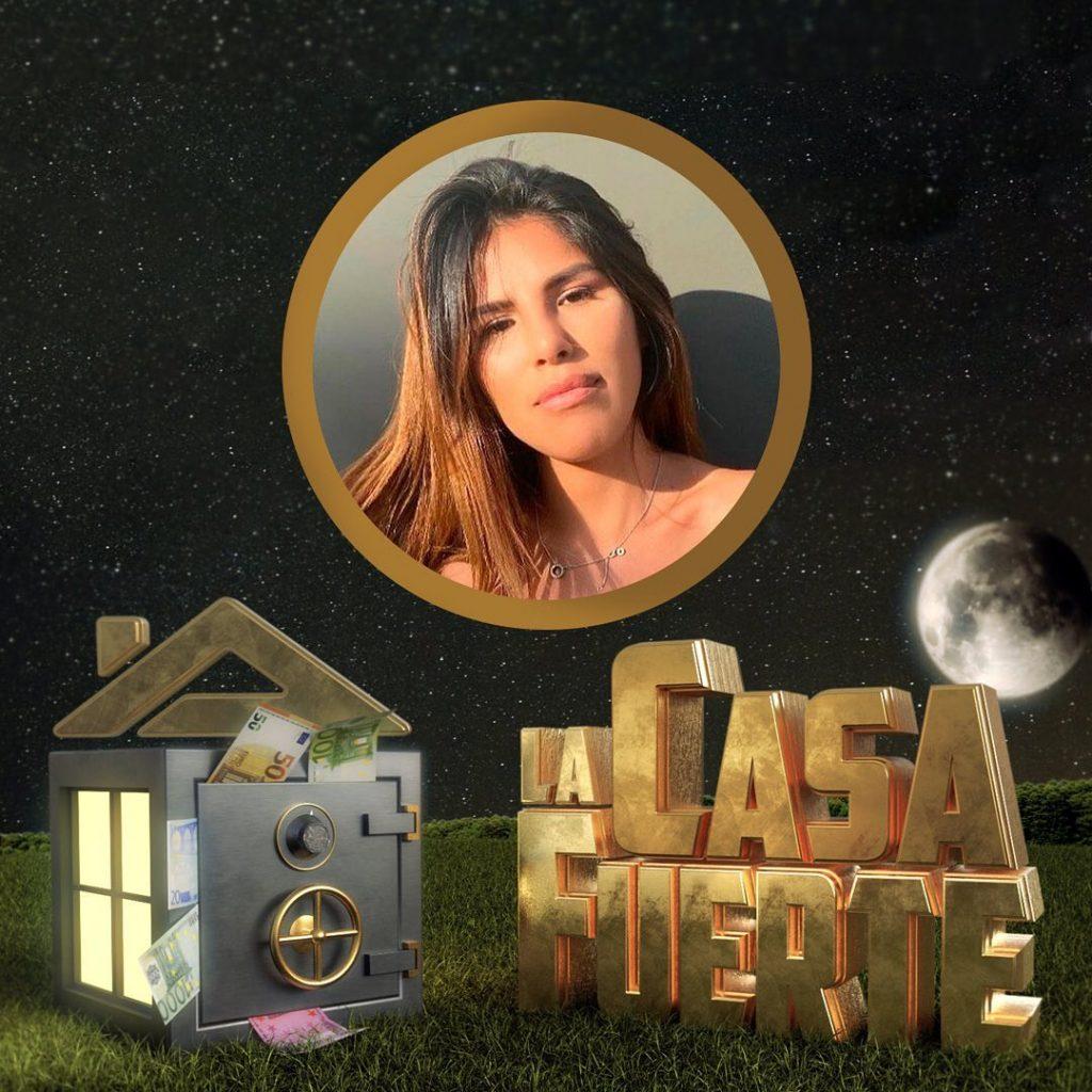 Isa Pantoja, concursante de La casa fuerte.