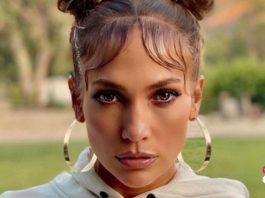 Primer plano de Jennifer Lopez