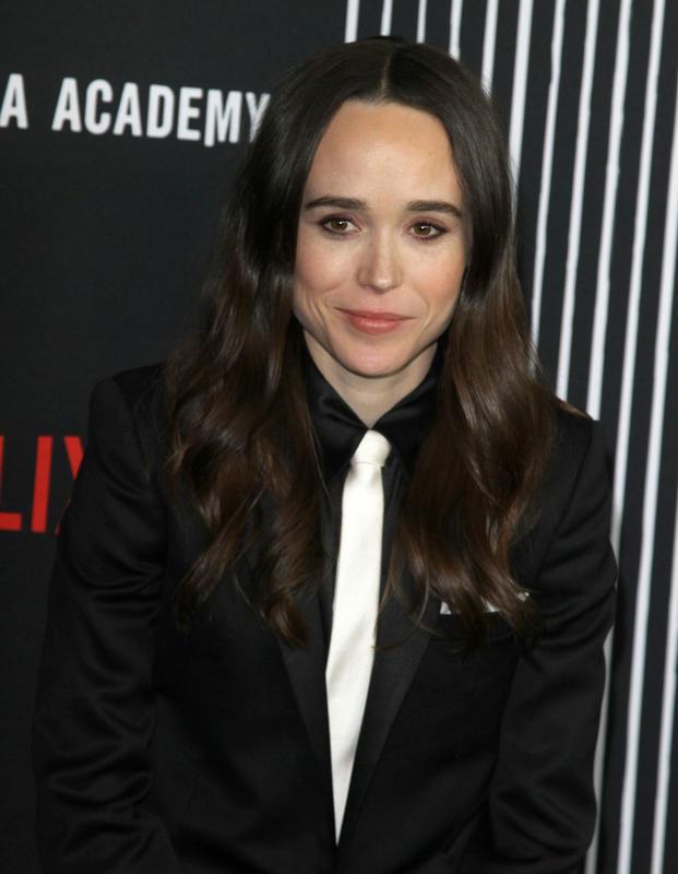 Ellen Page, aquí en la presentación de 'The Umbrella Academy', fue una de las primeras actrices que se enfrentó a Chris Pratt.
