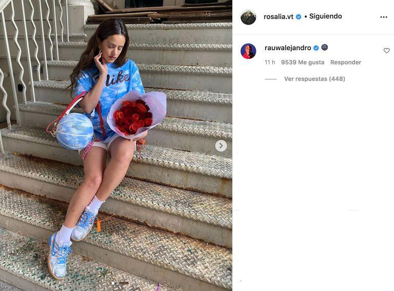 El nuevo novio de Rosalía