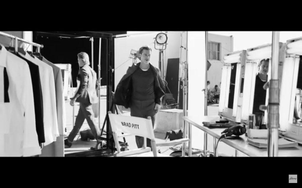 Una de las escenas del vídeo de Brad Pitt