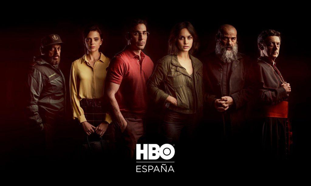 cartel promocional de la serie