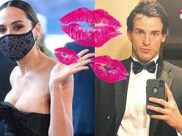 Tamara Falcó imita a David Broncano en un beso con mascarilla