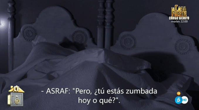 Asraf e Isa discuten.