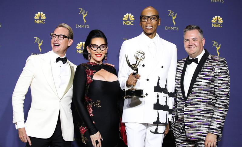 Ross Mathews, RuPaul Andre Charles, RuPaul, Michelle Visage,