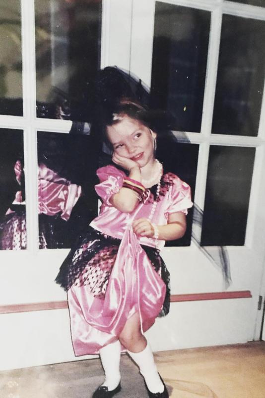 Anya Taylor-Joy, de pequeña