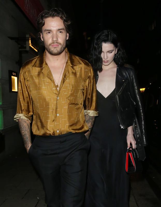 Liam Payne y su novia Maya Henry,
