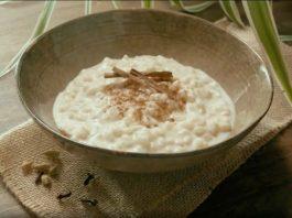 Un arroz con leche especiado muy original
