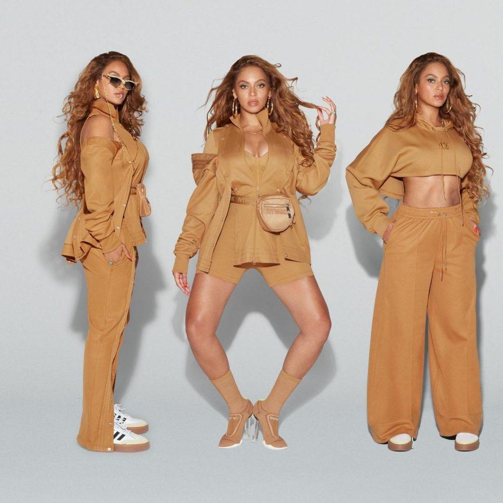 Beyonce, con la línea Adidas color miel