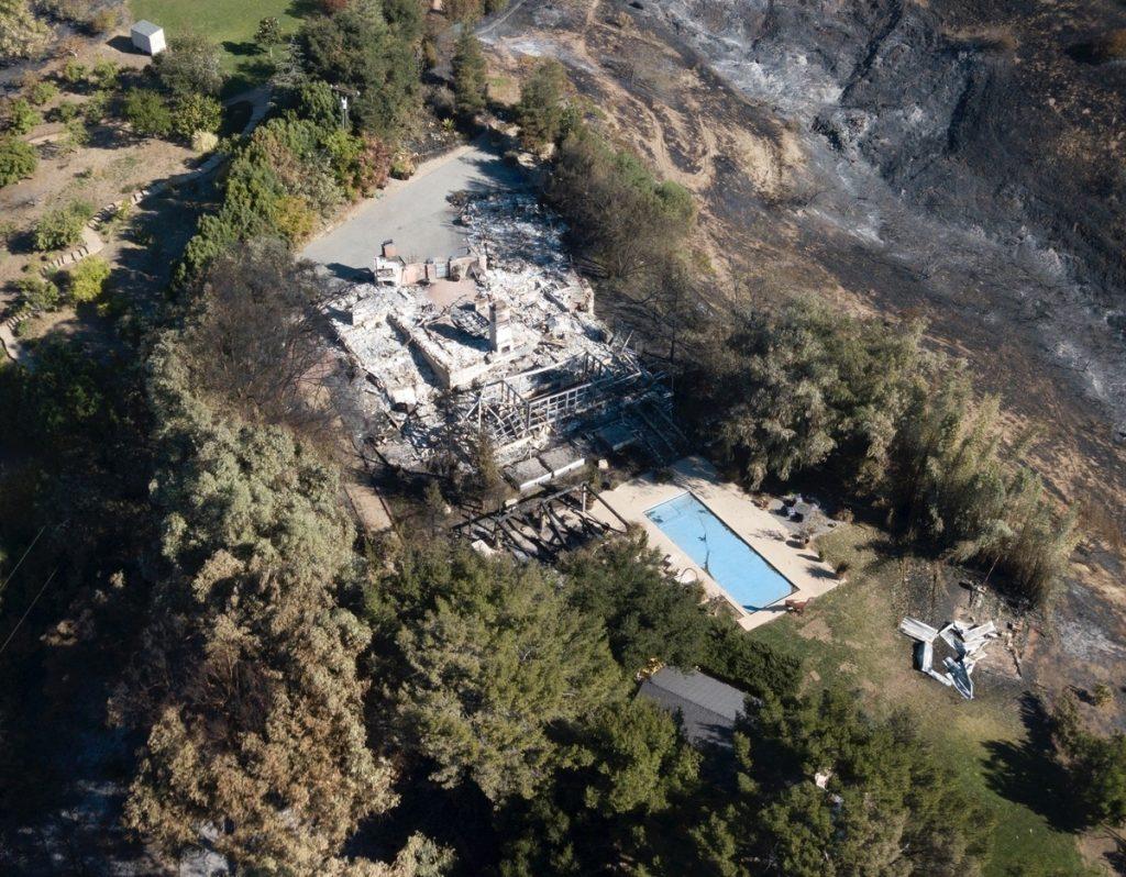 La casa de Malibu de Miley Cyrus y Liam Hemsworth.