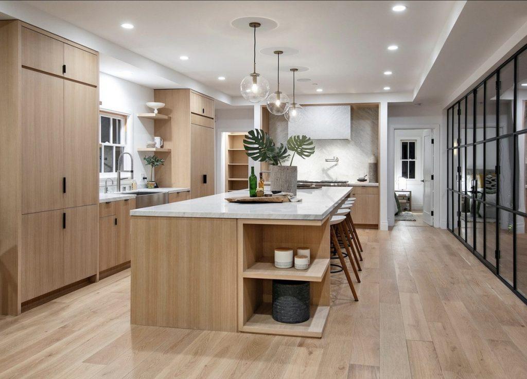 La cocina de la casa que venden Justin y Hailey
