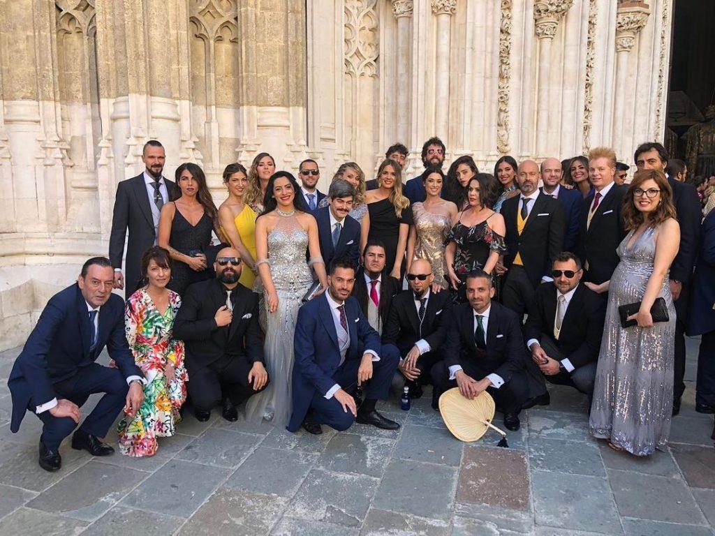Algunos de los invitados a la boda de Pilar Rubio y Sergio Ramos