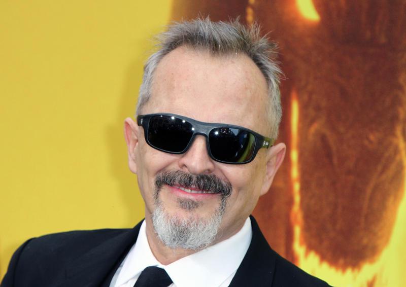 Miguel Bosé, en la première de Godzilla