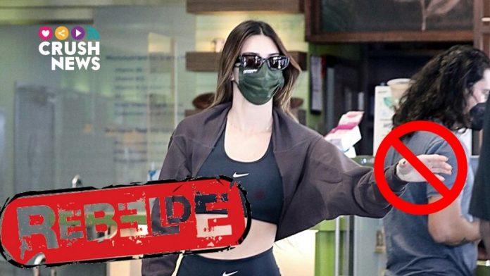 Kendall Jenner está rebelde