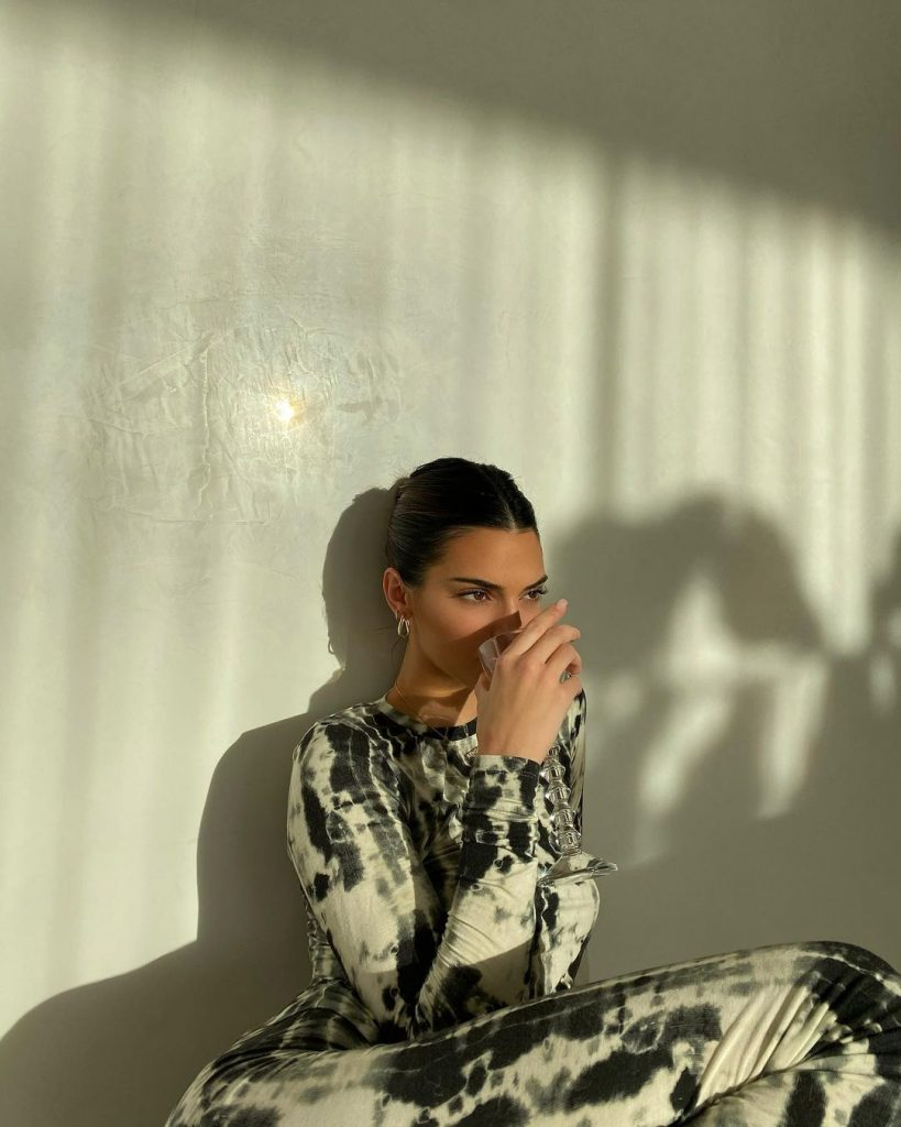 Kendall Jenner, en un posado de Instagram