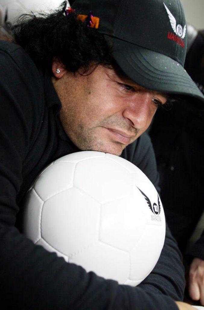 La vida de Maradona en imágenes