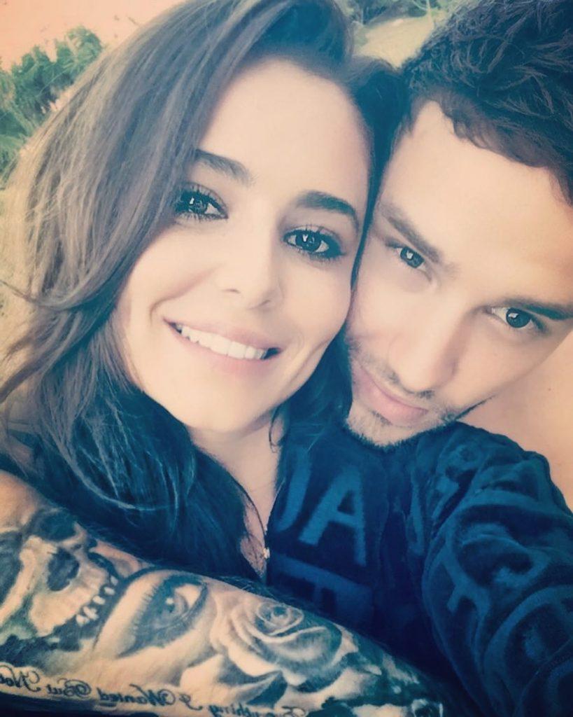 Liam y Cheryl Cole.