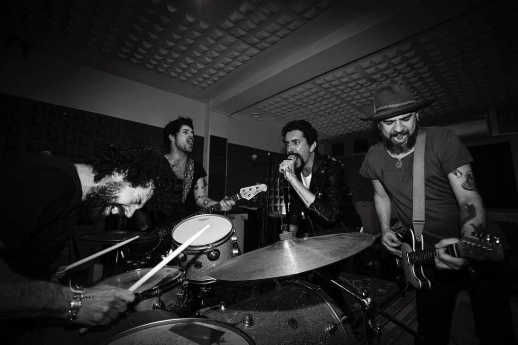 Foto de la banda Los Marrones