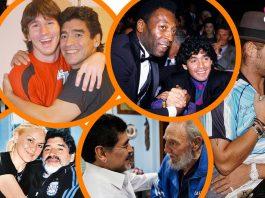 así fue la vida de Maradona