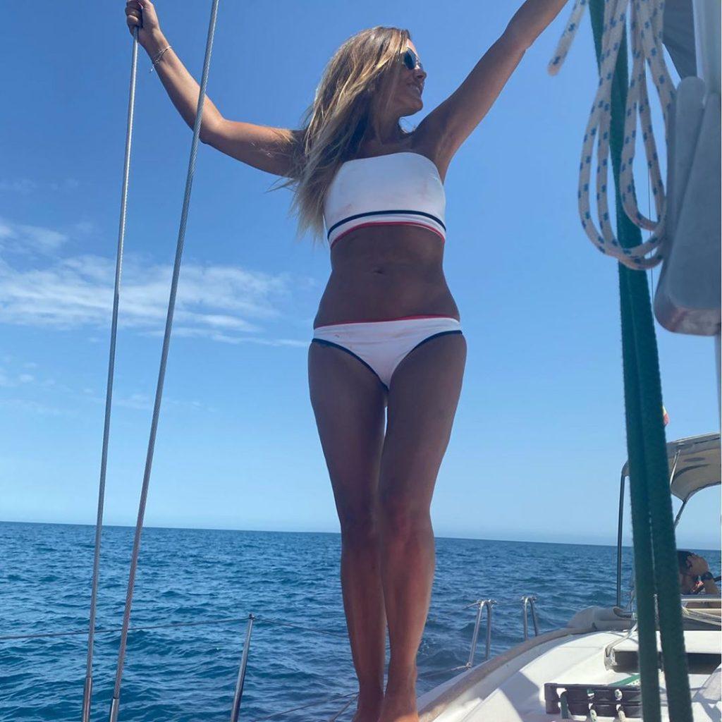 Marta López en bikini tras adelgazar.