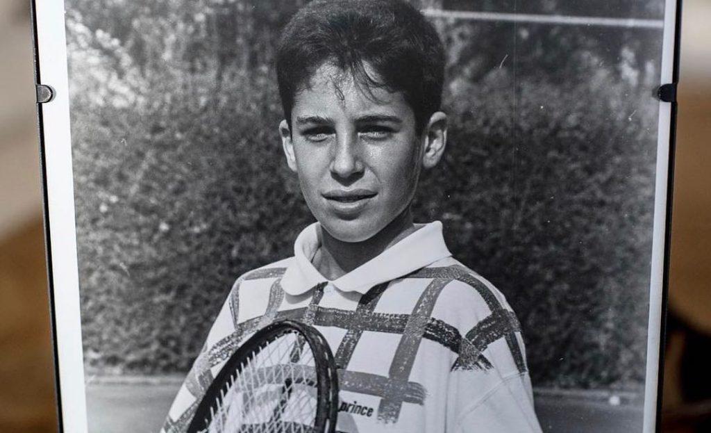 Miguel Ángel Silvestre, de niño