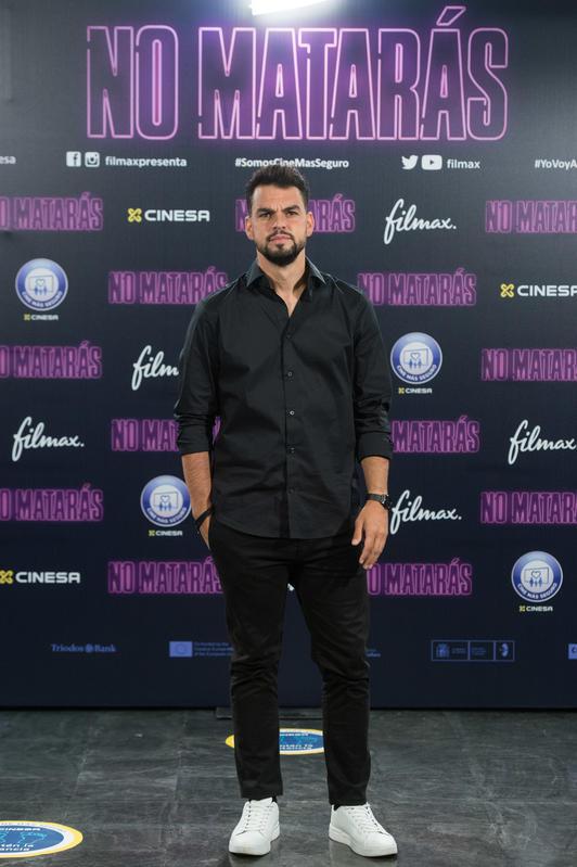 David Victori, el nuevo novio de Lali Espósito, en la presentación de No matarás, su último largometraje