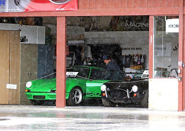 Orlando Bloom compra un Porsche verde