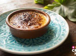 Te vas a enamorar de esta receta de creme brulée