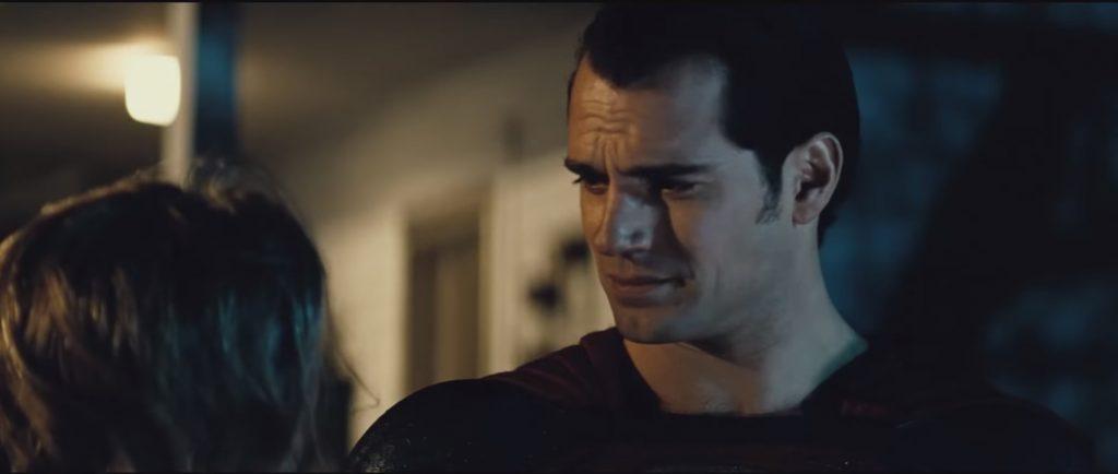 Henry Cavill, en la peli de Batman vs Superman