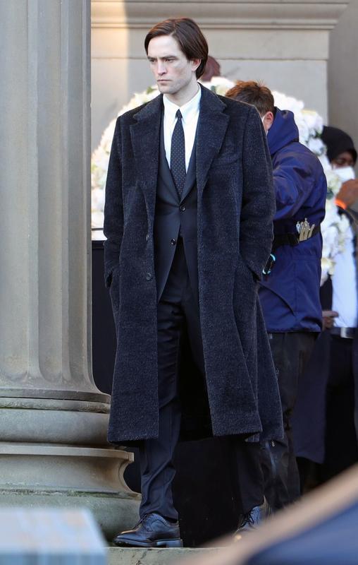 Robert Pattinson rodando The Batman