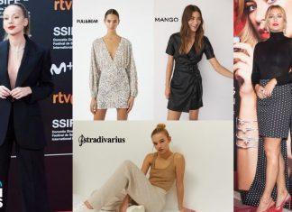 Ester Expósito, Blanca Suárez y tres modelos de marcas lowcost