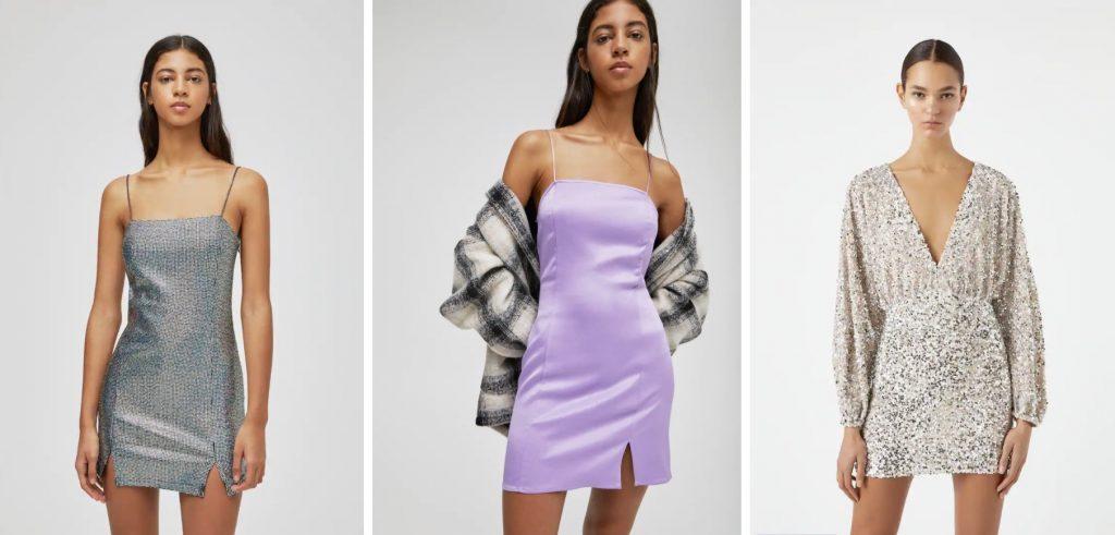 Tres vestidos de Pull & Bear