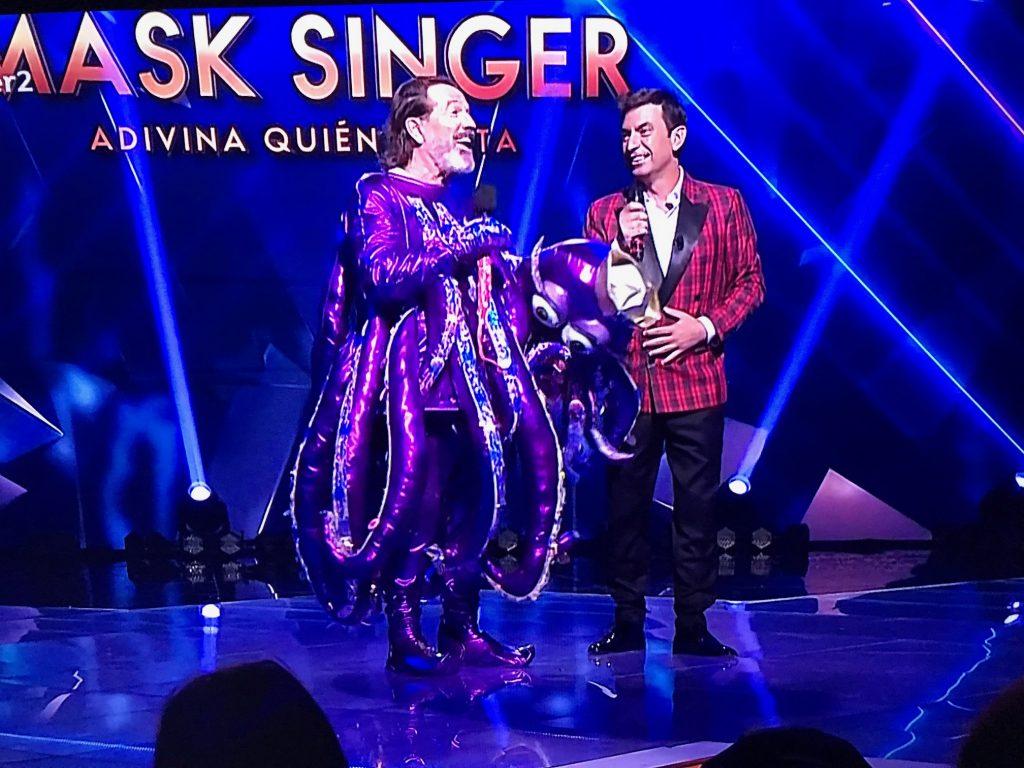 Pepe Navarro se quitó la máscara y fue el segundo eliminado de Mask Singer