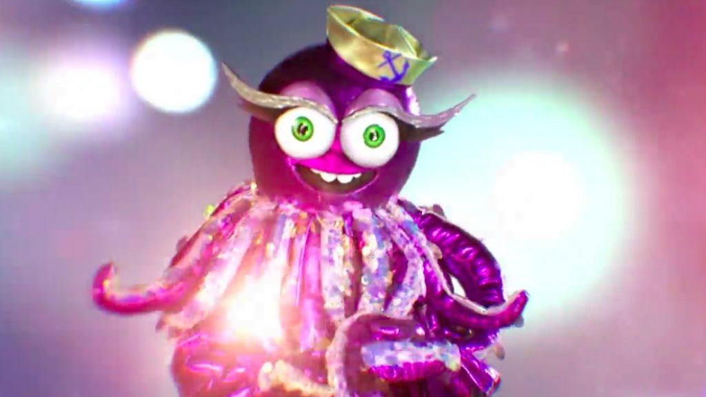 Pulpo, segundo eliminado de Mask Singer