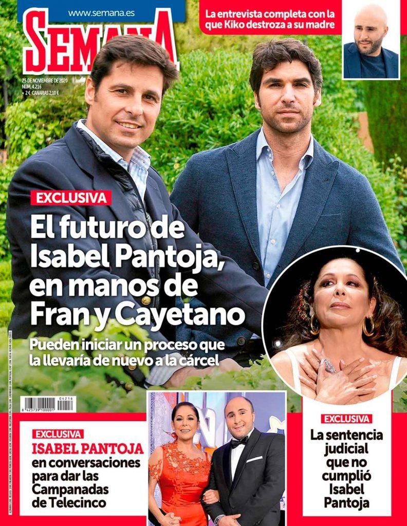 Portadas de las revistas del corazón:  Revista Semana