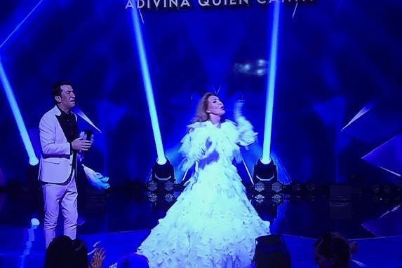 Norma Duval con Arturo Valls