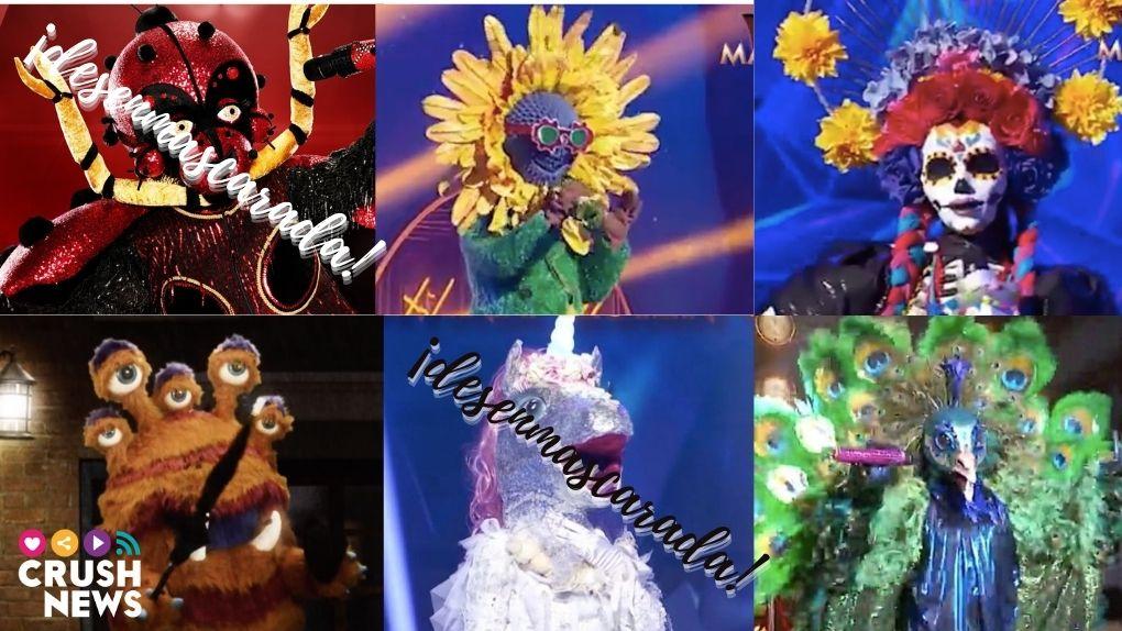 Concursantes de la tercera gala de Mask Singer