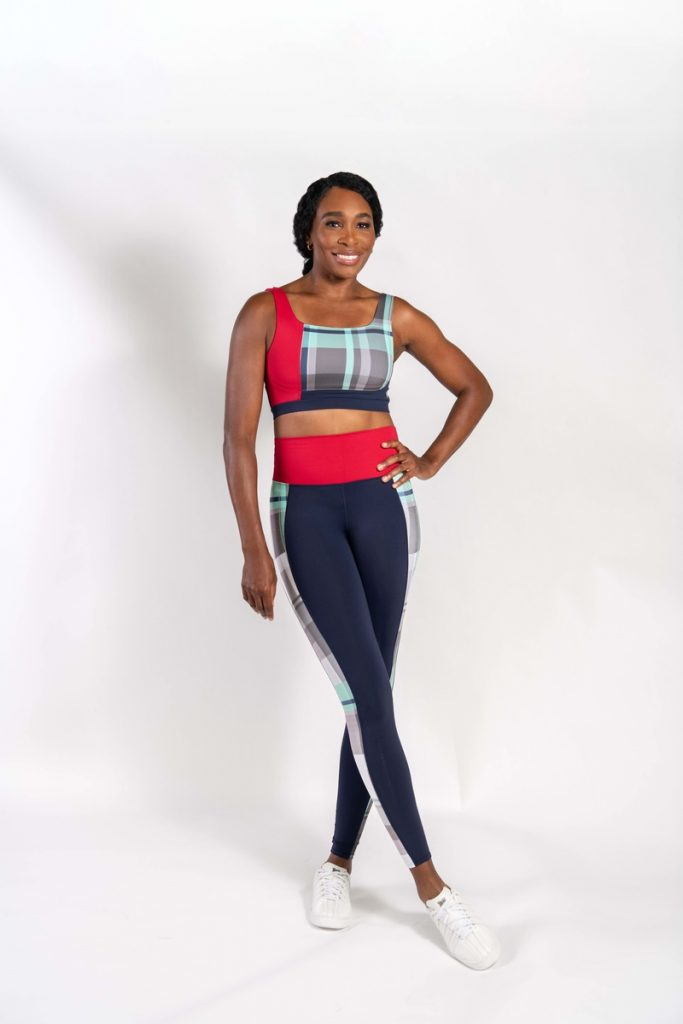 Venus Williams, con ropa K-Swiss-Eleven de entrenamiento