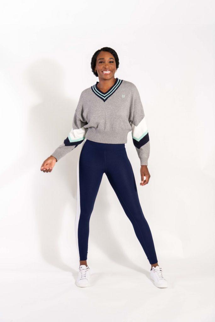 La tenista Venus Williams posa con ropa de la colección cápsula K-Swiss y Eleven