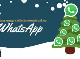 como enviar un mensaje de whatsapp a todos tus contactos a la vez