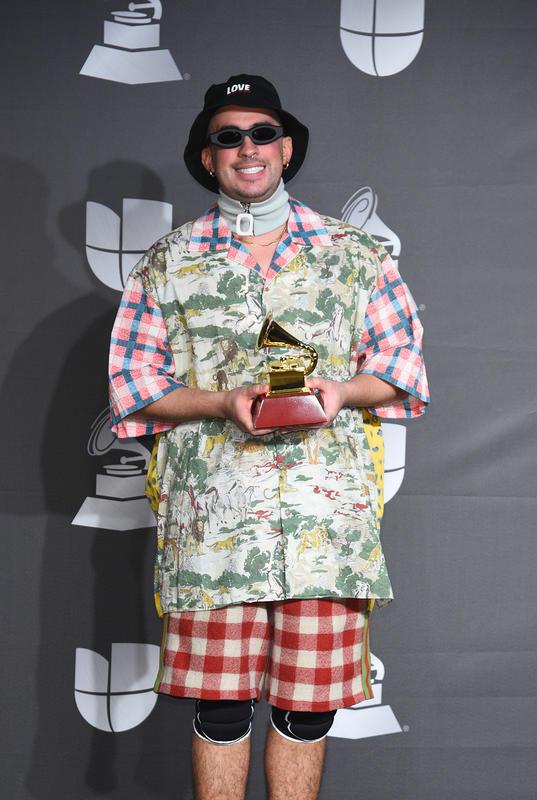 Bad Bunny, con el Grammy Latino al mejor álbum de música urbana