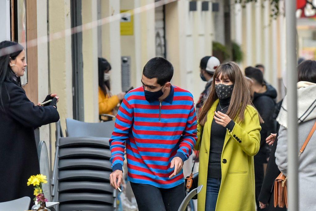 Omar Ayuso y Aitana en Madrid.