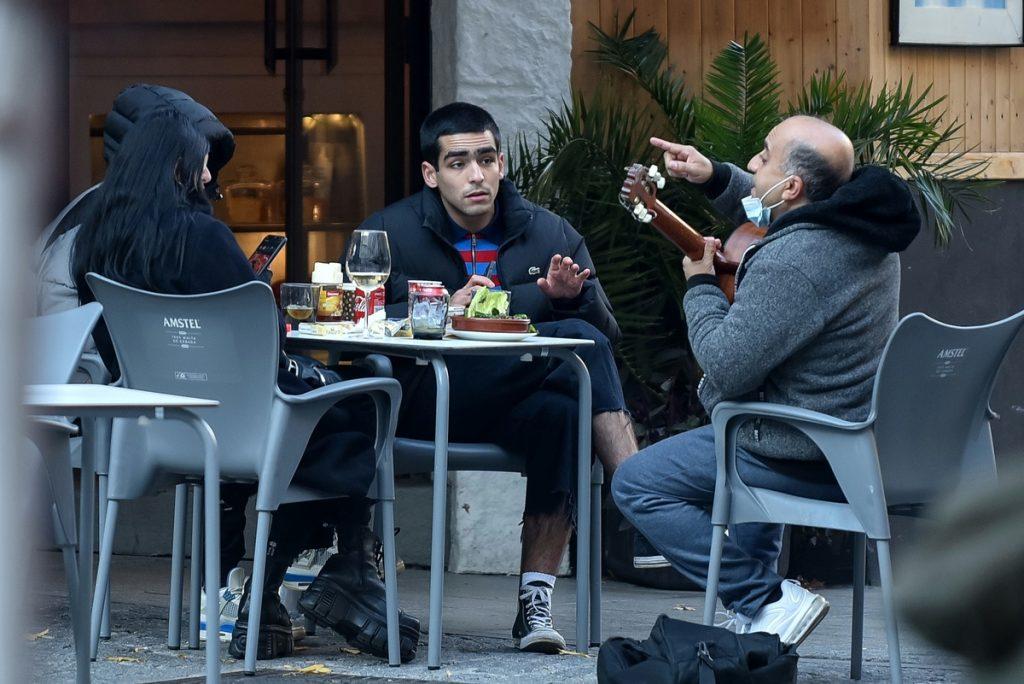 Omar Ayuso en Madrid.