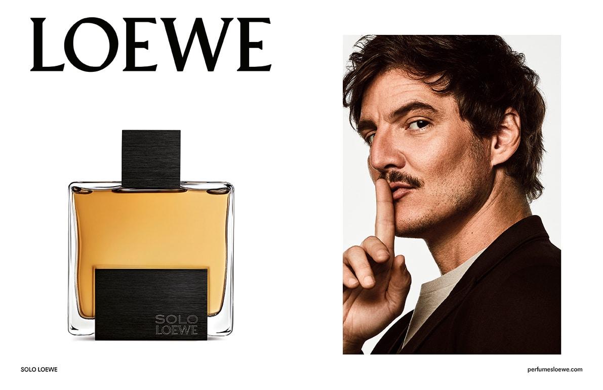 Pedro Pascal en el anuncio de Solo Loewe