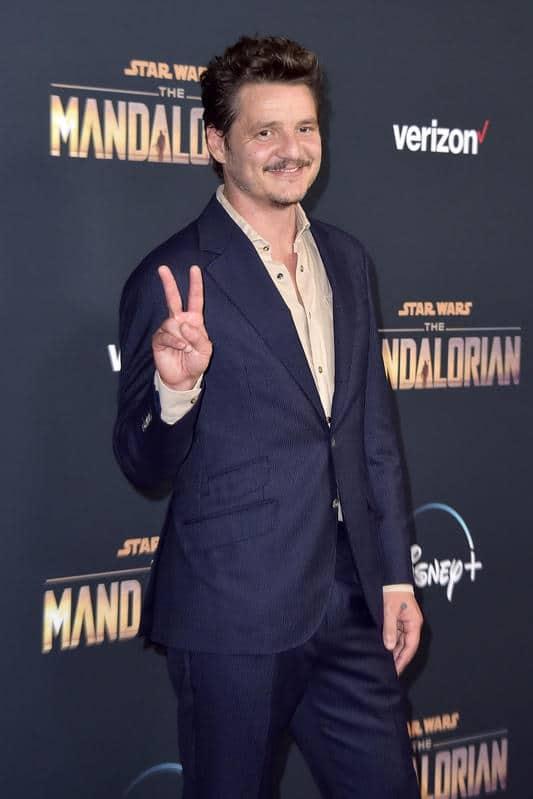 Pedro Pascal en un evento de The Mandalorian